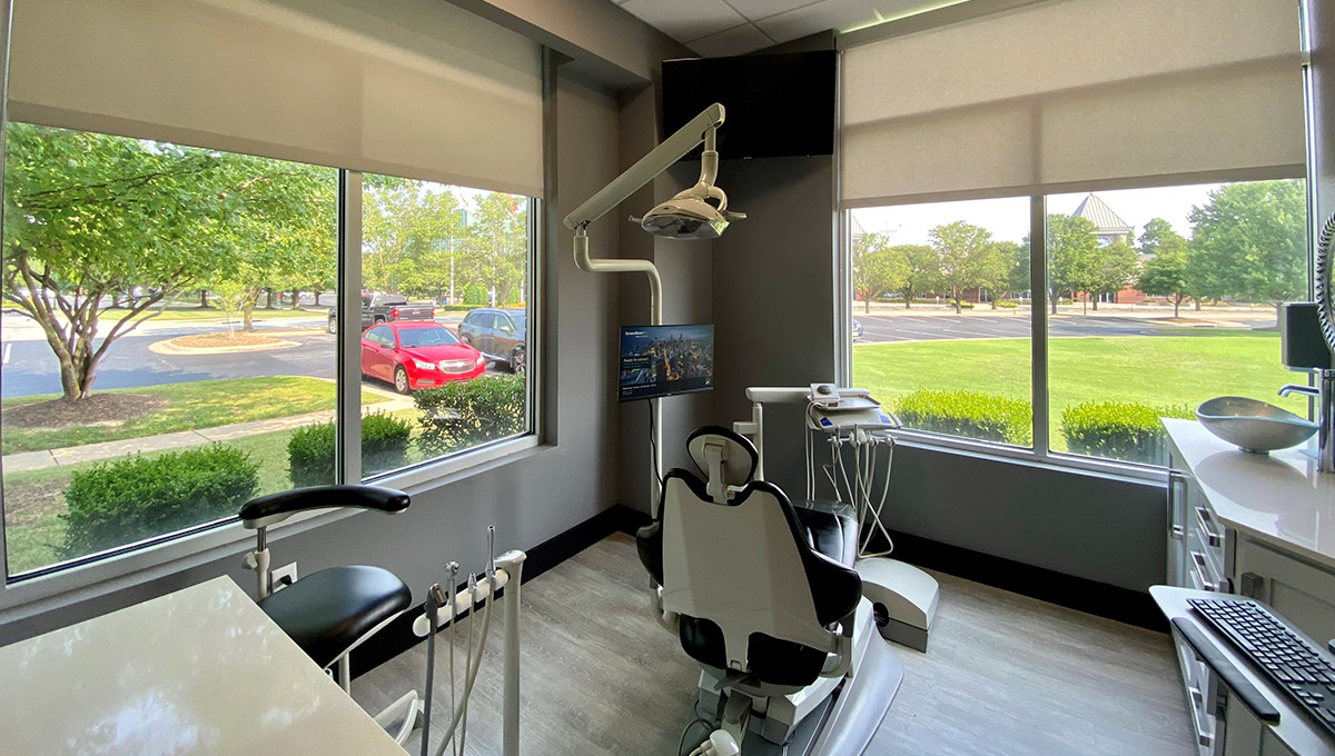 Comfortable patient room